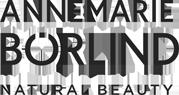 ANNEMARIE BORLIND NATURAL BEAUTY logo