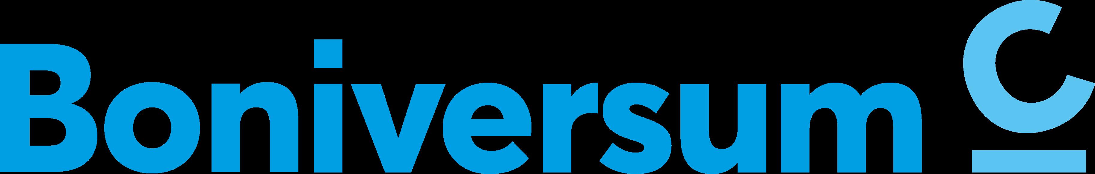 Boniversum rgb cyan Logo